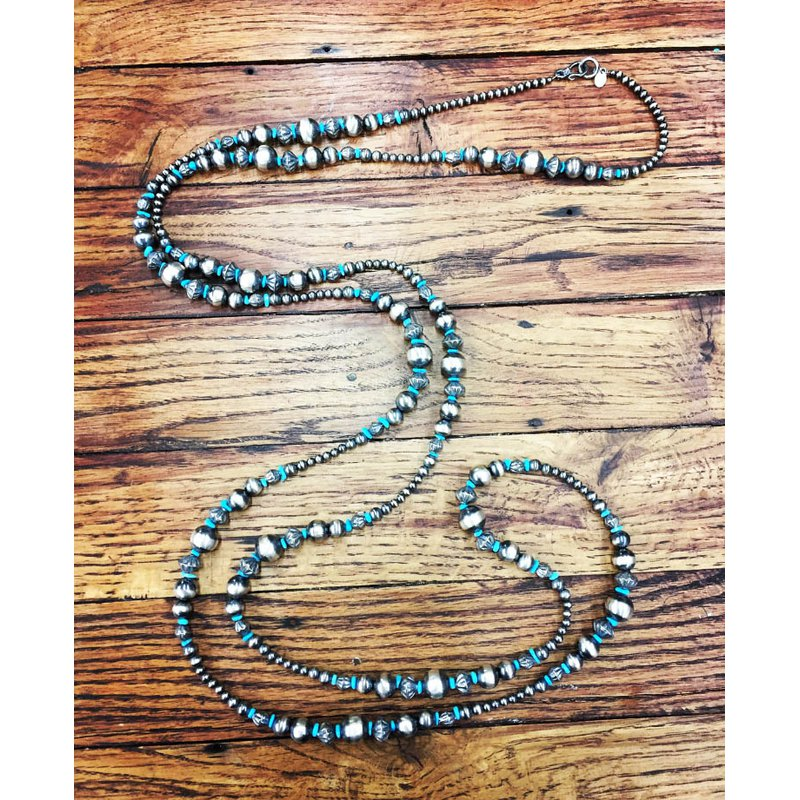 F.A.T Navajo Pearls Pearl Necklace