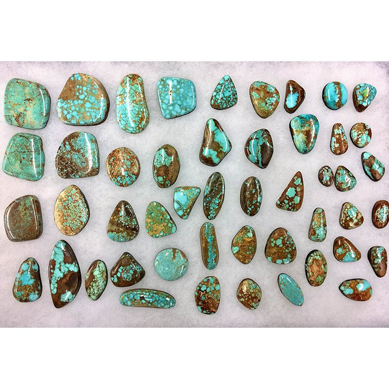 F.A.T Turquoise Cabochons #8 Turquoise Nevada