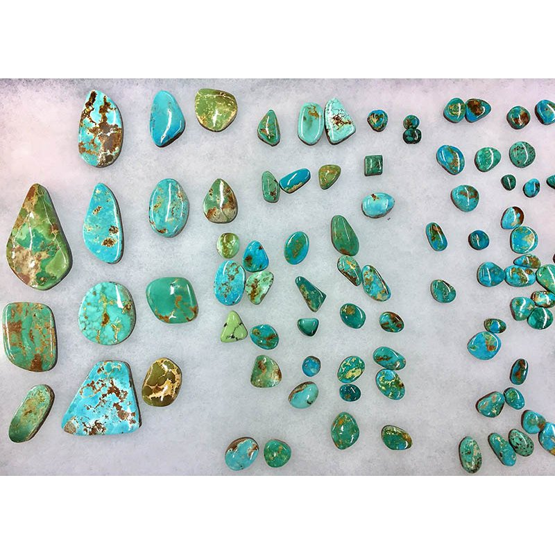 F.A.T Turquoise Cabochons Royston Nevada