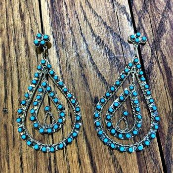 3 Tier Earrings