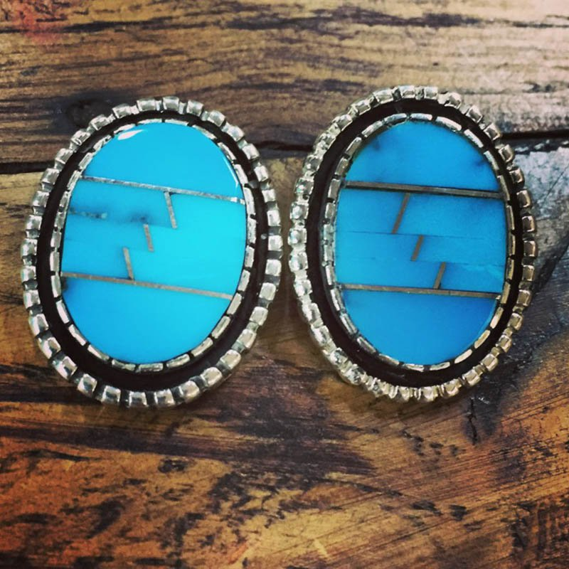 F.A.T Earrings Turquoise Earrings
