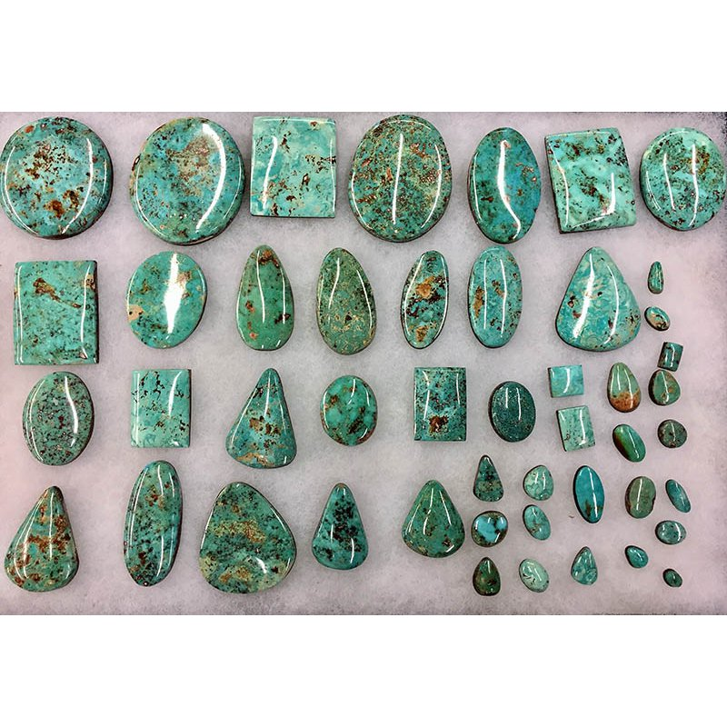 F.A.T Turquoise Cabochons Cripple Creek Colorado