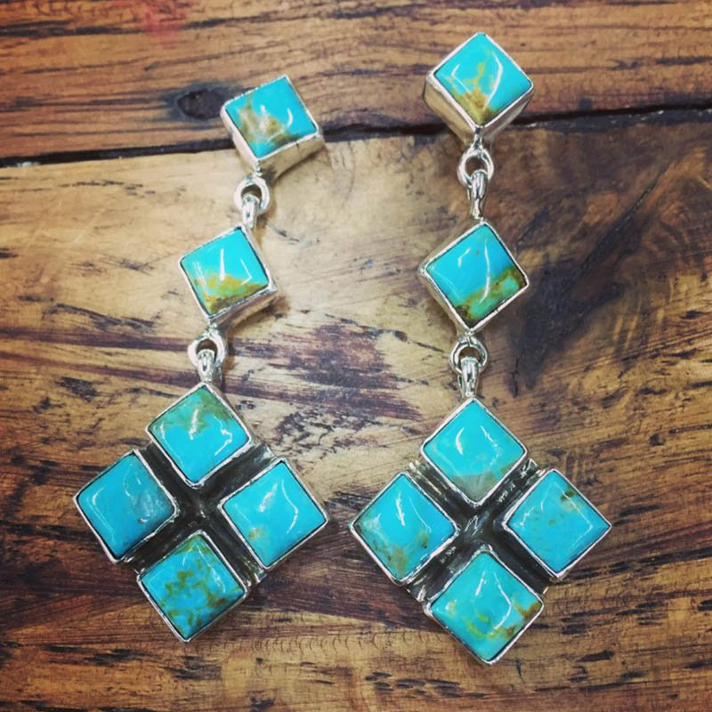 F.A.T Earrings Turquoise Earrings