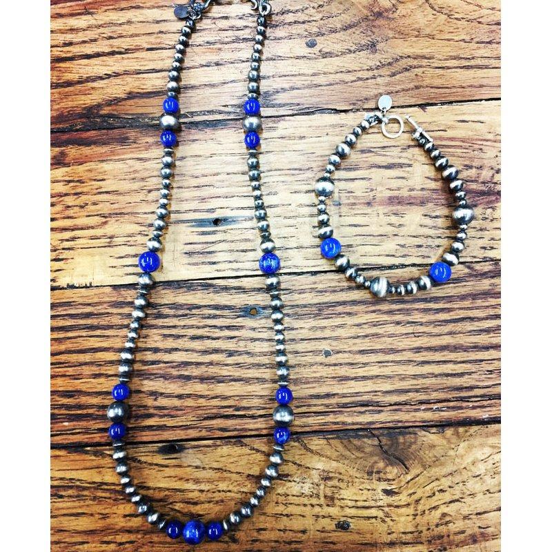 F.A.T Navajo Pearls Pearl Bracelet