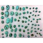 F.A.T Turquoise Cabochons Godber Burnham Nevada