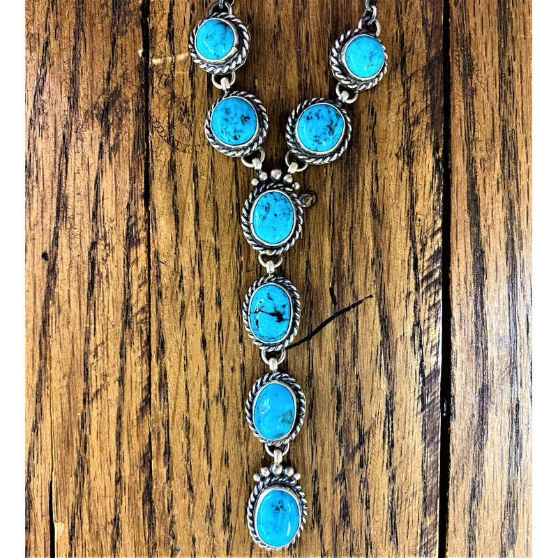 F.A.T Native NM Beveled Necklace and Earring Set