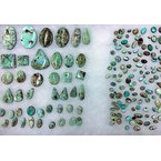 F.A.T Turquoise Cabochons Dry Creek Nevada