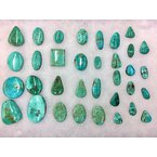 F.A.T Turquoise Cabochons Red Mountain Nevada