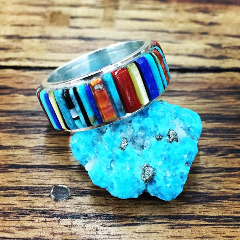 F.A.T Rings Turquoise Pendant