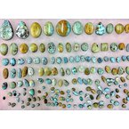 F.A.T Turquoise Cabochons Blue Moon Nevada