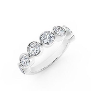 The Forevermark Tribute™ Collection Anniversary Diamond Ring