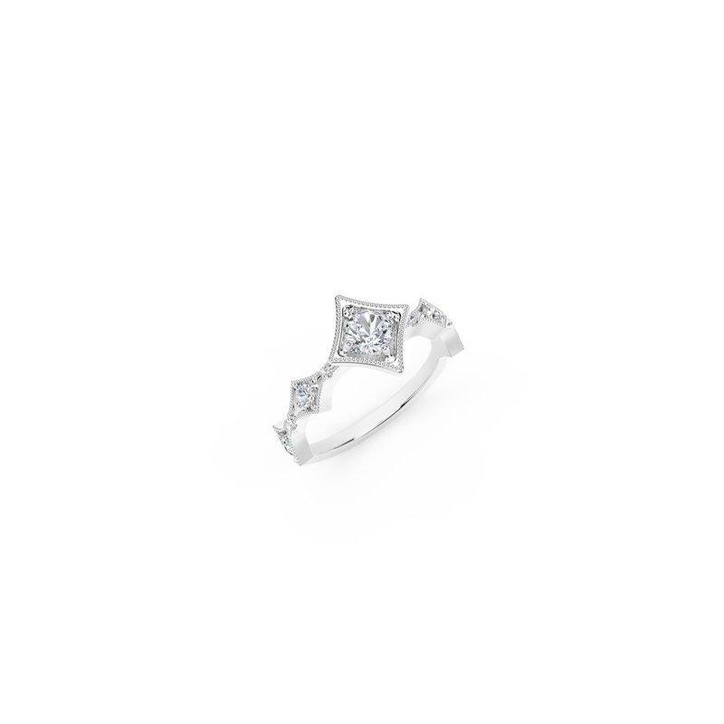 Forevermark The Forevermark Tribute™ Collection Modern Diamond Ring