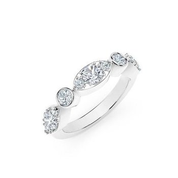 The Forevermark Tribute™ Collection Delicate Diamond Ring