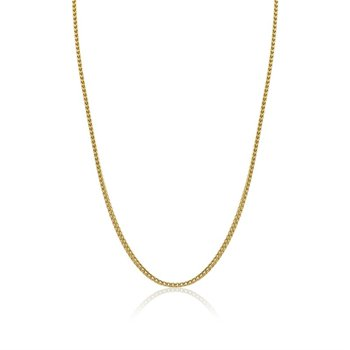 """Gold IP Franco Link Chain - 24"""""""