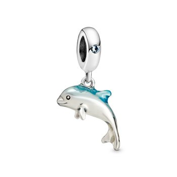 Shimmering Dolphin Dangle Charm - Limited Quantity