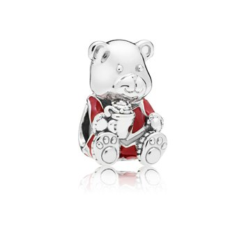 Christmas Teddy Bear Charm - FINAL SALE