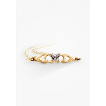 10k Child's Birthstone Bracelet, April