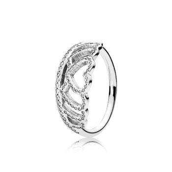 Hearts Tiara Ring, size 4.5 - FINAL SALE