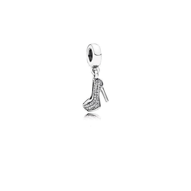 Pandora Pavé Stiletto Shoe Dangle Charm