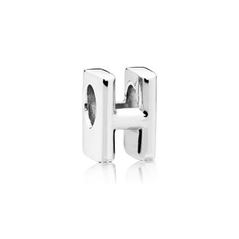 Letter H Alphabet Charm