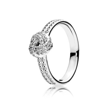 Shimmering Knot Ring, size 9.0