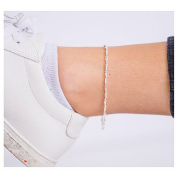SS Beaded Anklet