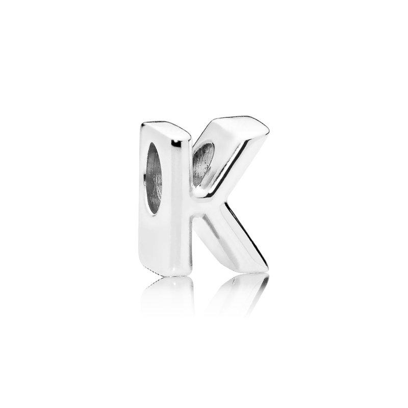 Pandora Letter K Alphabet Charm