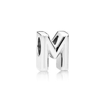 Letter M Alphabet Charm