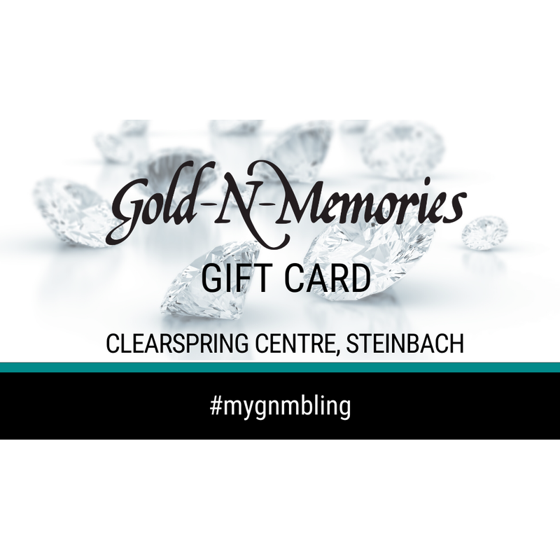 GNM Jewellery Collection GNM Gift Card
