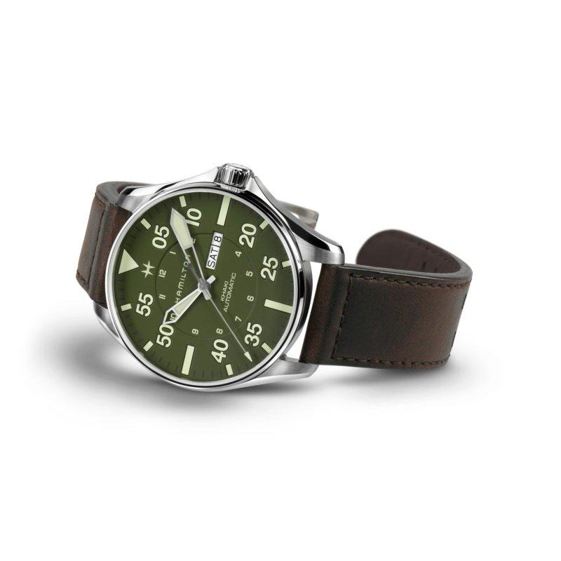 Hamilton Watches Khaki Aviation Pilot Schott NYC - Limited Edition