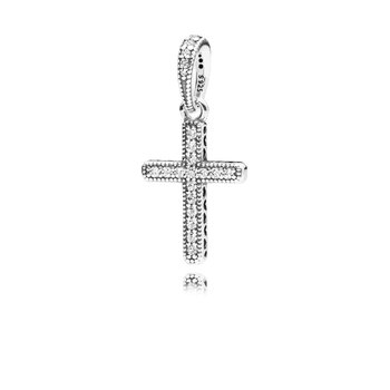 Sparkling Cross Pendant