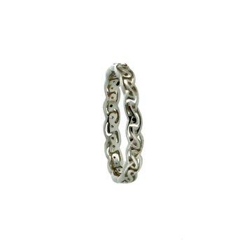 """Tay"" Eternity Knot Ring, sz 7.0"