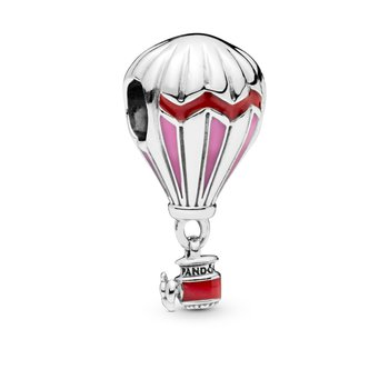 Red Hot Air Balloon Travel Charm - FINAL SALE