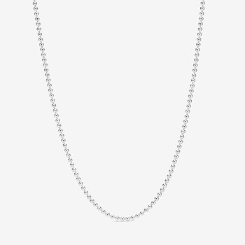 """Polished Ball Chain Necklace, 23.5"""" - FINAL SALE"""