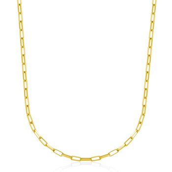 Paperclip Link Chain