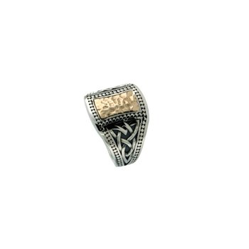 Tapered Signet Ring, sz 11