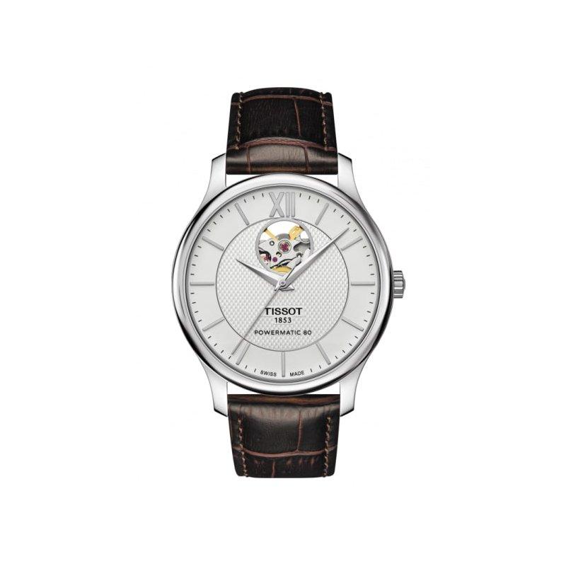Tissot Tradition Powermatic 80 Open Heart Watch T063.907.16.038.00