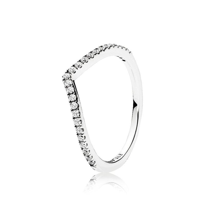 Pandora Shimmering Wish Ring, size 7.5
