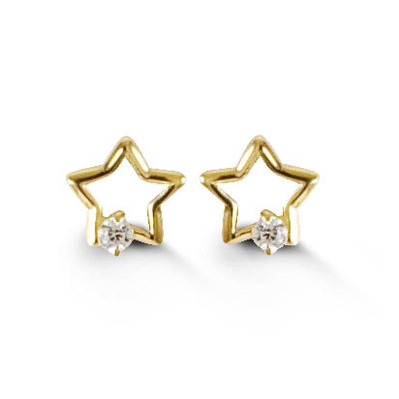 Bella Baby Bella Star Stud Earrings