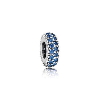 Blue Inspiration Within Spacer Charm