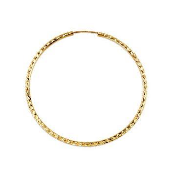 10k Bella Hoop Earrings