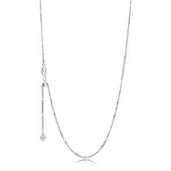 "Classic Figaro Chain, 27.5"" - FINAL SALE"