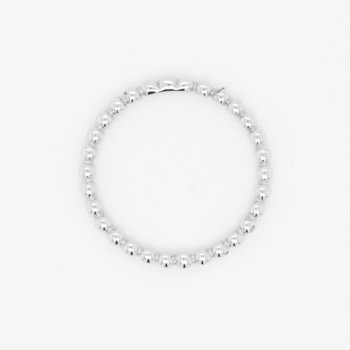 10K Beaded Stackable Ring