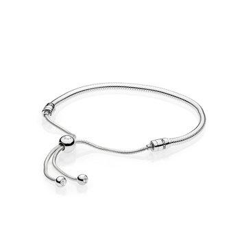 Moments Slider Snake Chain Bracelet, Adjustable