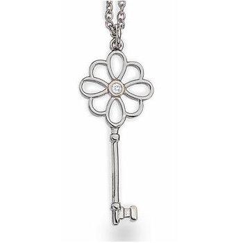 """Unlocked"" Diamond Necklace"