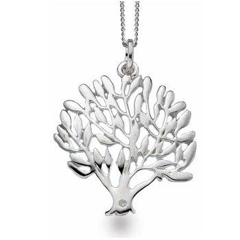 """Tree of Life"" Diamond Pendant"