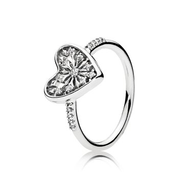 Heart of Winter Ring, size 7.5 - FINAL SALE