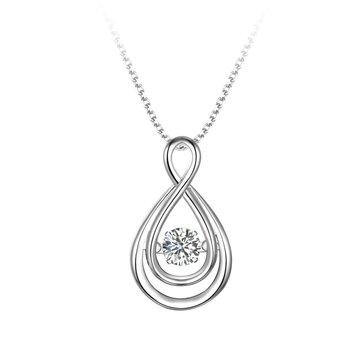 "Silver Infinity ""Dancer"" Pendant"