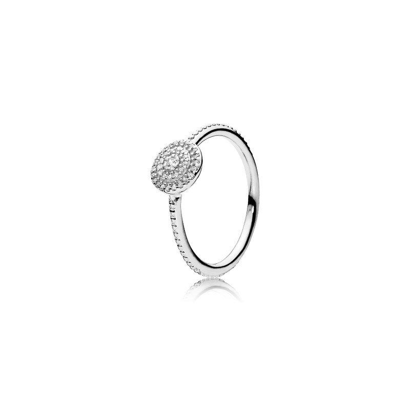 Pandora Elegant Sparkle Ring, size 9.0