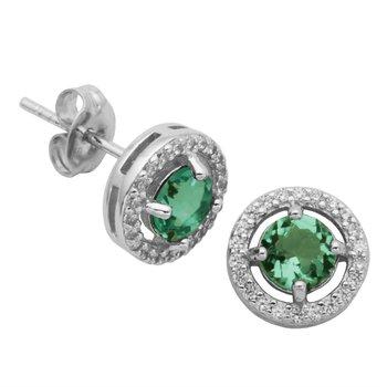 May Birthstone Earrings